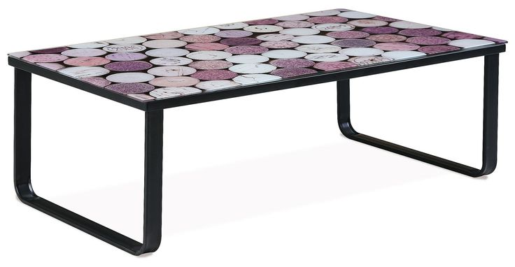 Konferenční stolek PARMA - CORK - Sconto Nábytek