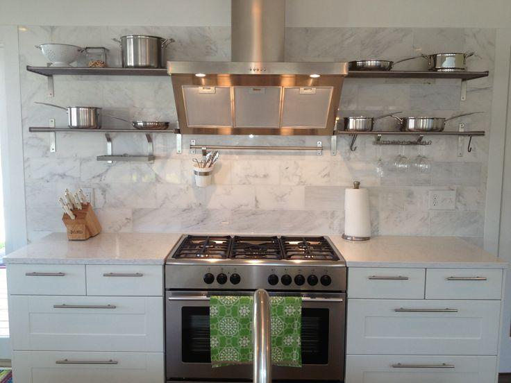 167 Best Images About Kitchen On Pinterest Open Shelving Kitchen Backsplash And Apron Sink