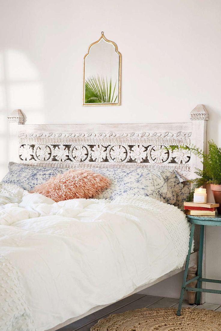 25 best white headboard ideas on pinterest - Diy interior design ideas bedroom ...