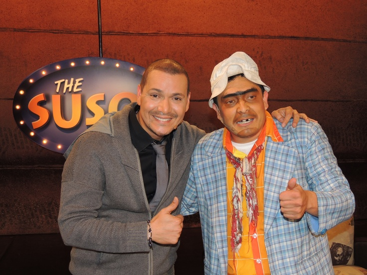 Victor Manuelle en The Suso's Show.