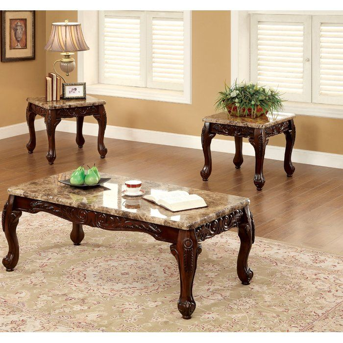 Best Albertus 3 Piece Coffee Table Set In 2020 3 Piece Coffee 400 x 300