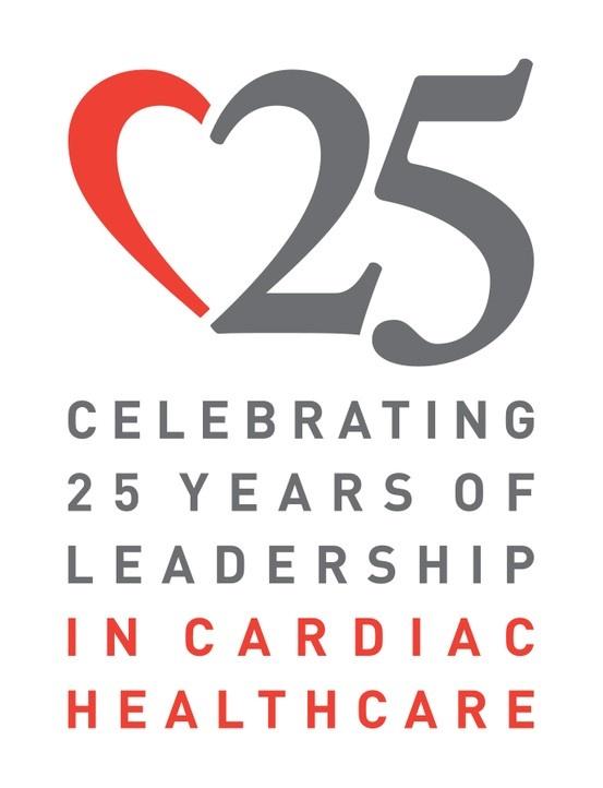 2013 Silver ADDY® Award Winner – Elements of Advertising, Logo JFK Medical Center, 25th Anniversary Cardiac Healthcare Logo