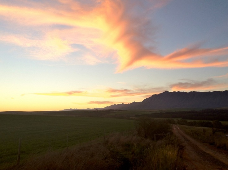 Beautiful Sunset by Extreme Frontiers: South Africa #SouthAfrica #Travel #Adventure #Weather #Sunset #CharleyBoorman #Swellendam