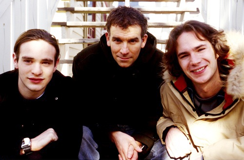 Charlie Cox, Matthew Parkhill and James D'Arcy, Sundance 2003