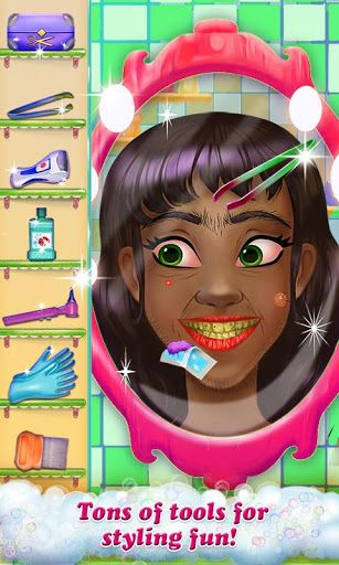Welcome to the Hairy Face Salon! The hairiest salon on the app store! Yikes, these hairy people need a makeover! Can you help them out?! Run your own salon! Shave, tweeze, style and pick lice from your messy clients' hair! <p>Everyday is a messy and fun d