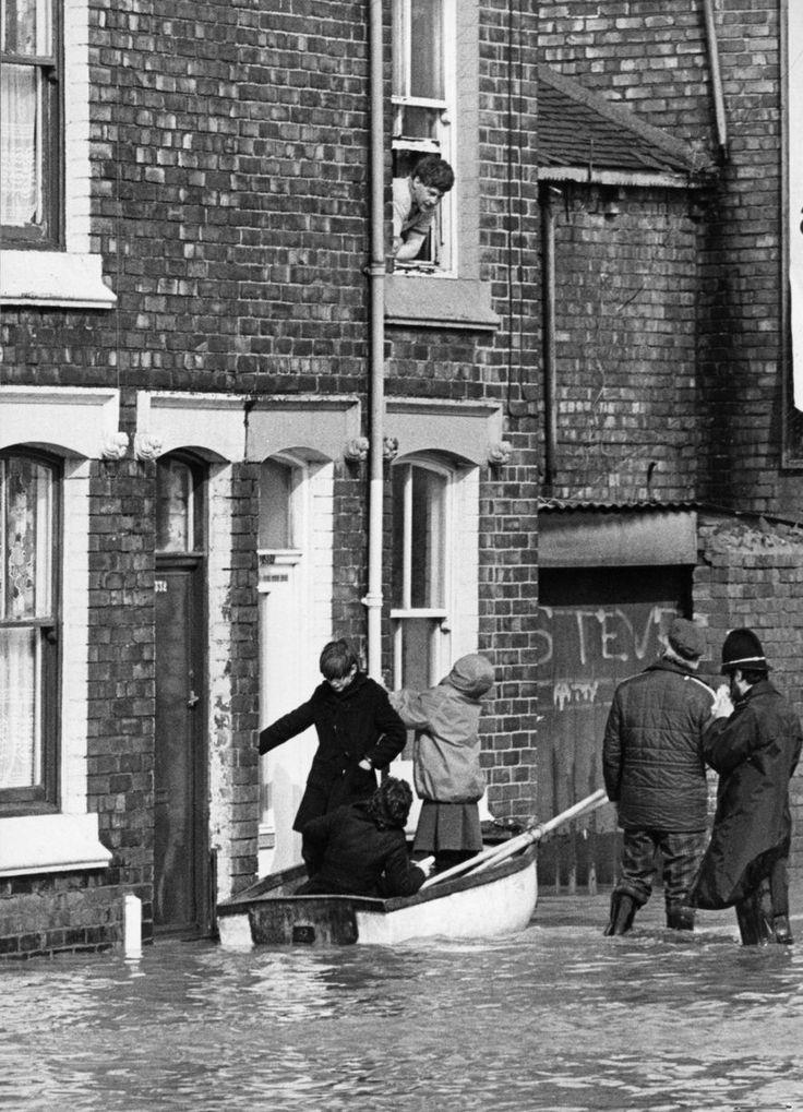 Borough Road, Middlesbrough Flood 1979