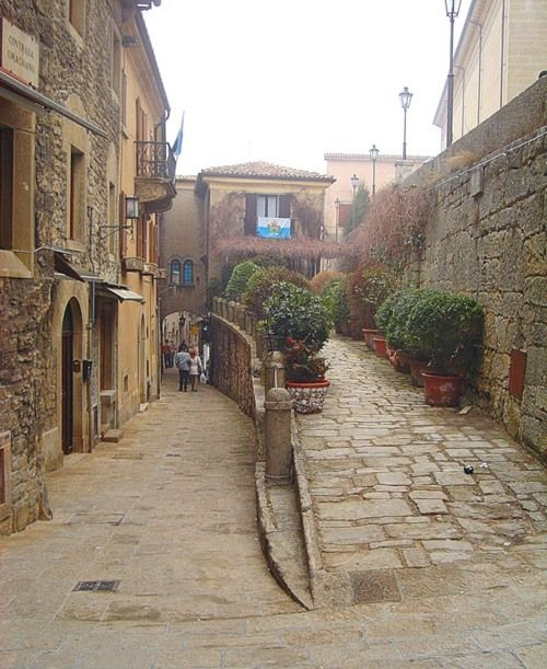 San Marino #Italy -- stayed at the hotel at the right.  LOVED this place.
