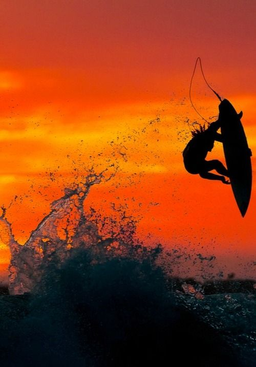Surfing... Can't even describe it go experience it yourself. Live the dream. I ❤️ it!