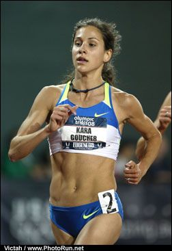 Kara Goucher, my favorite distance runner!