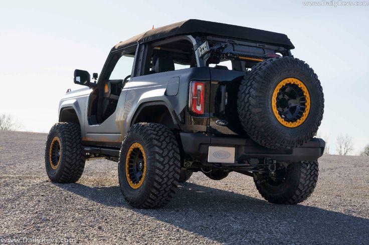 2021 Ford Bronco 2door Badlands Sasquatch Concept