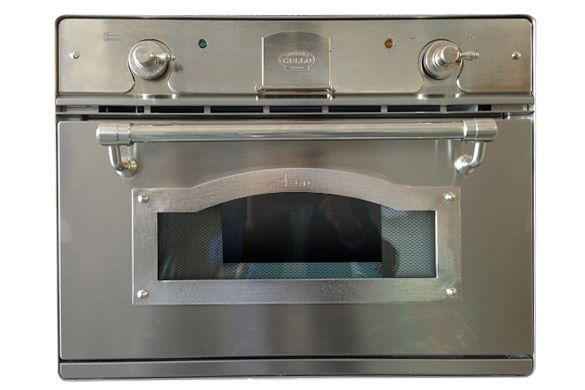 Our multifunction stainless steel, quick-start pizza oven has special 400° C thermostat, electronic temperature control. Features of 35.1L oven include intensive, fan-assisted cooking at 300°C,...