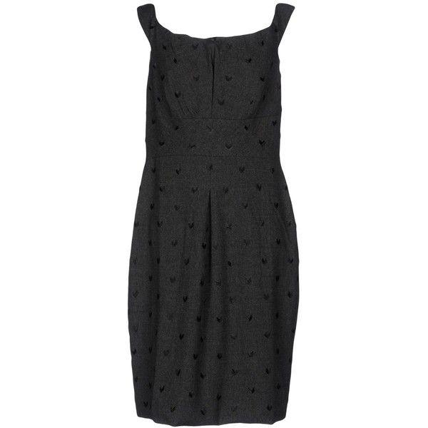 Lavender Label By Vera Wang Short Dress (2,850 EGP) ❤ liked on Polyvore featuring dresses, grey, short tube dress, mini tube dress, beaded mini dress, gray dress and zip dress