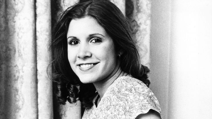 """rollingstone: """"Carrie Fisher, iconic actress who played Princess Leia in 'Star Wars' series, has died at age 60. """""""