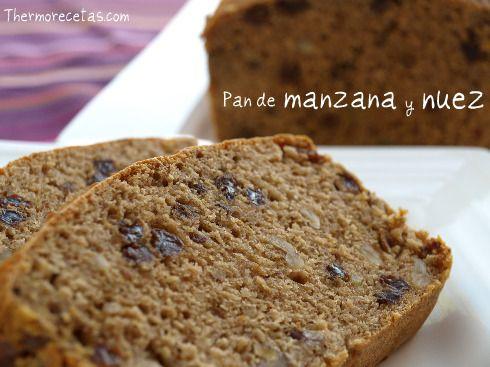 ¿Os apetece que hagamos un pan de manzana y nuez? Una opción diferente para disfrutar de un desayuno especial.