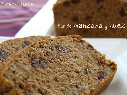 Pan de manzana y nuez: Thermomix Panes, Thermomix Panques, Apple, Nuez Thermomix, Failures Of, Breads, Sweet, Kitchen, Desserts Thermomix