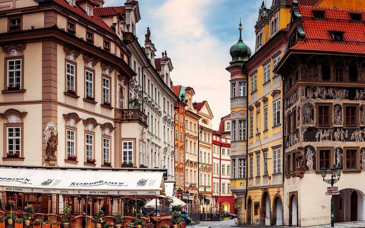 Prague Travel HD Wallpaper Wide