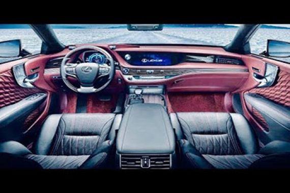 لکسوس Ls 500h 2020 رقیب کلاس S In 2020 Lexus Ls Lexus Interior Luxury Hybrid Cars