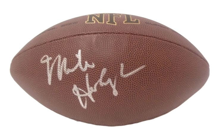 Mike Holmgren Autographed NFL Wilson Composite Football, Proof Photo