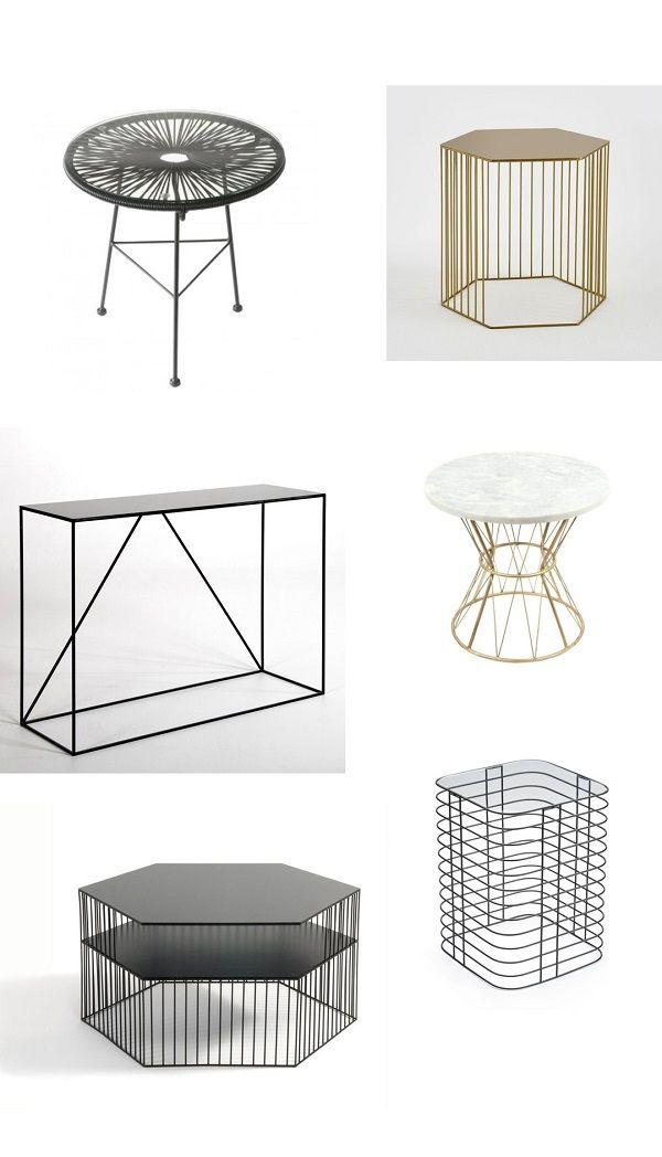 Table chevet la redoute gallery of chevet double plateau - Table de nuit la redoute ...