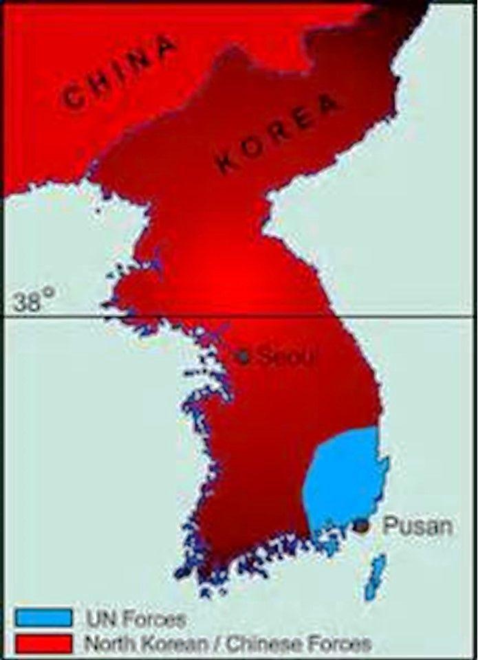 97 best Korean War 1950-1953 images on Pinterest Korean war - best of world map at night korean