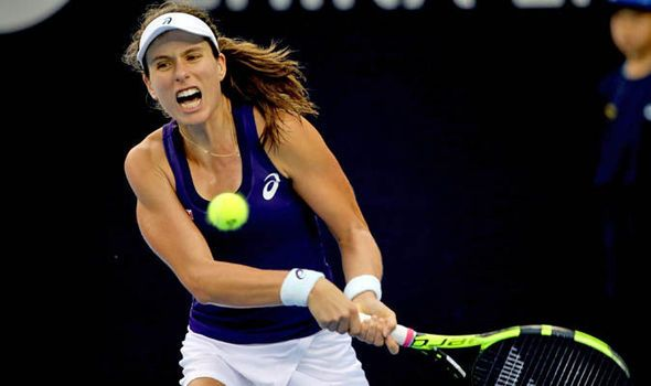 British number one Johanna Konta beats US Open runner-up to reach China Open quarters