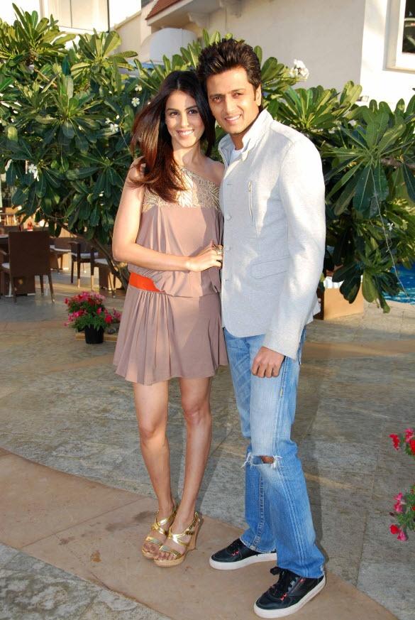 Bollywood Couple: Genelia D'Souza and Ritesh Deshmukh