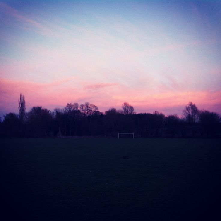 Pink fluffy clouds X sunset