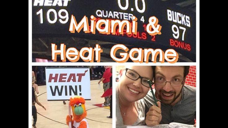 Miami & Heat Game | Vlog - YouTube