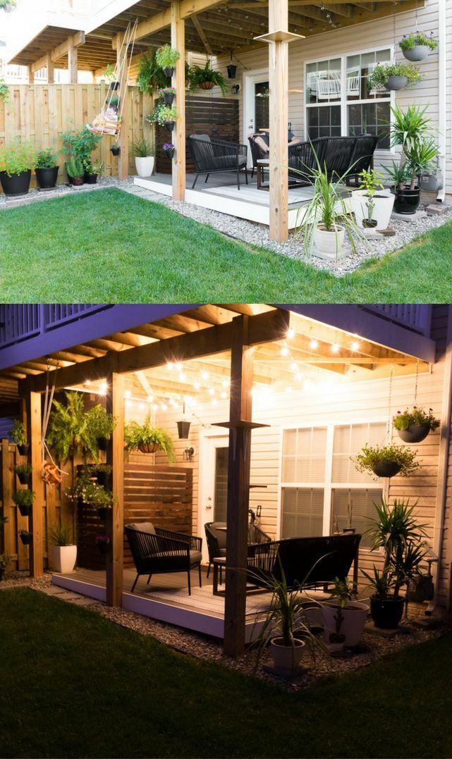Tiny Backyard Ideas An Update On My Tiny Backyard Garden Small Backyard Landscaping Small Backyard Small Backyard Design