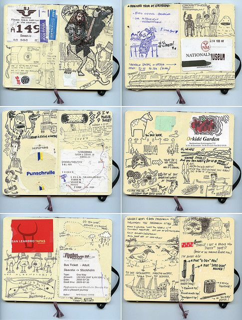 Darling little moleskin books to make notes, sketch ideas, capture gems of advice...