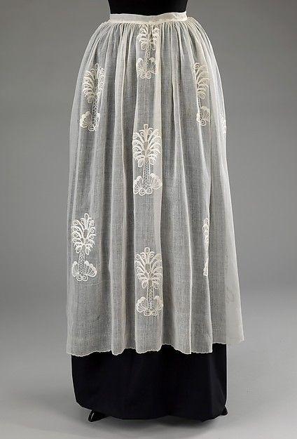 Apron 1760s The Metropolitan Museum of Art  c56b2c71d94