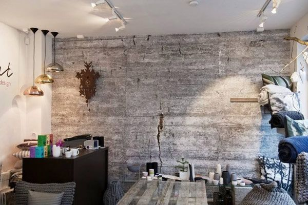 5 Modern Wallpaper Ideas For An Updated Look Concrete Wall Wall Design Modern Wallpaper