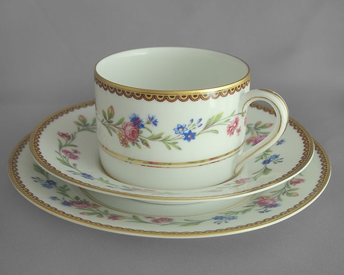 Raynaud, Limoge china cup, saucer & plate trio, collectable c1950s FREE post UK | eBay