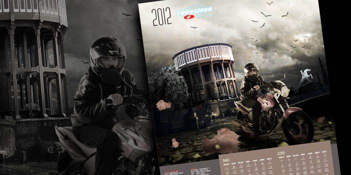 TUNASJAYA HONDA Calendar Design
