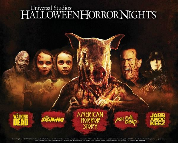 Universal Halloween Horror Nights Tickets
