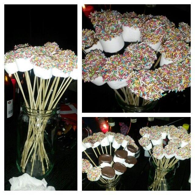 Marshmallow chokolate birthday kids Skumfidus chokolade fødselsdag