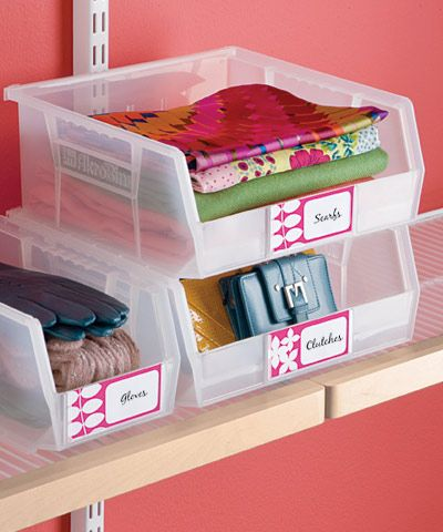The container store tip maximizing small spaces - Maximize storage in small bedroom ...