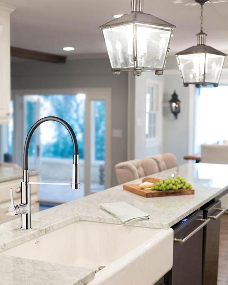 Una fantástica grifería le cambiará el look a tu cocina. #easytienda #tiendaeasy #Remodelaciones #YoAmoMiCasaRenovada #Easy