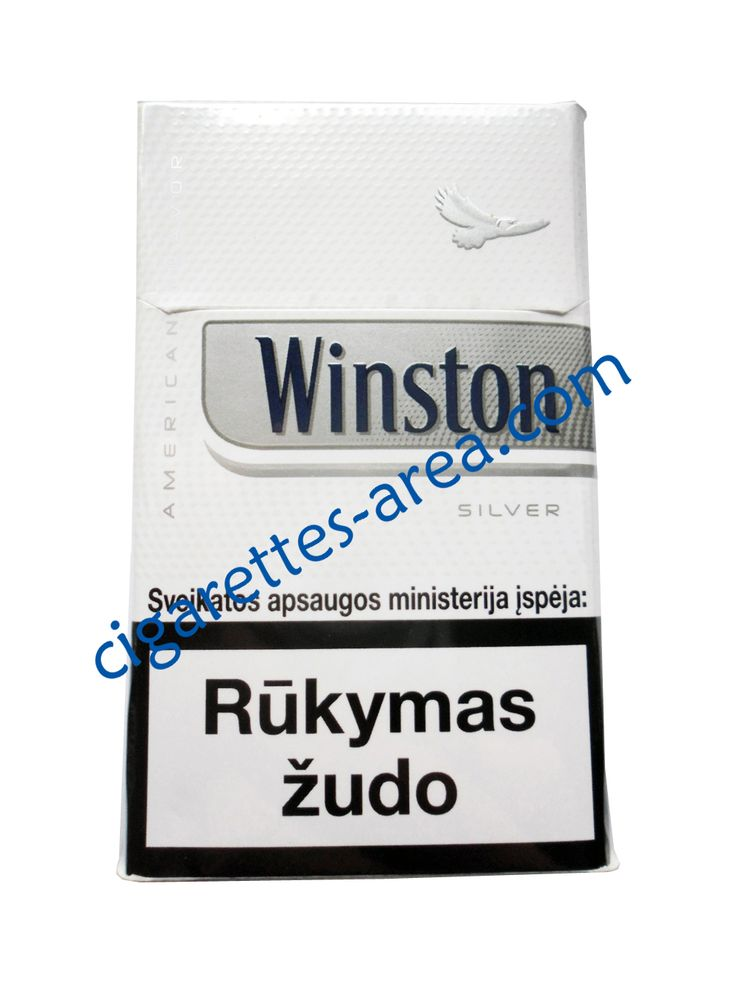 WINSTON Silver cigarettes