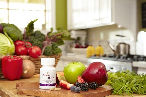Forever Daily, a daily vitamins that works to enhance all the other Forever products. www.bauscher.myflpbiz.com
