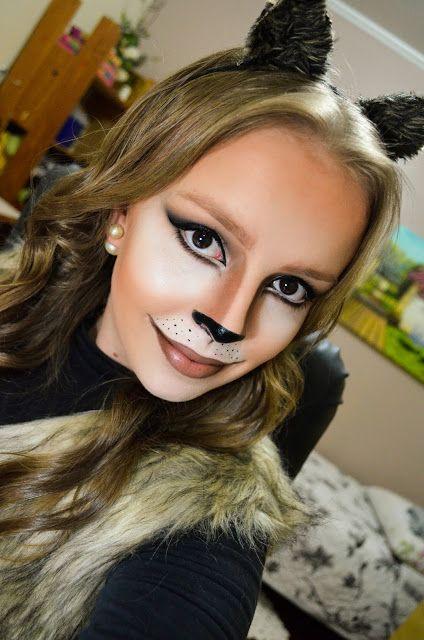 Beautiful Make Up: Tutorial de Maquiagem Felina por Bianca Bins-Halloween #3
