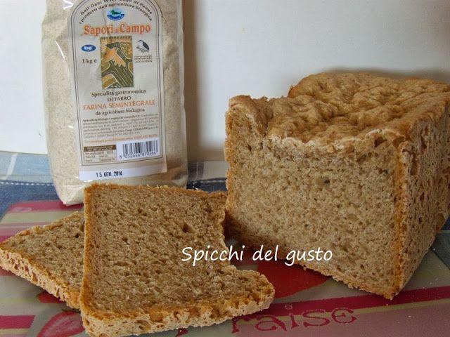 #Spicchidelgusto: #Pane con farina semintegrale