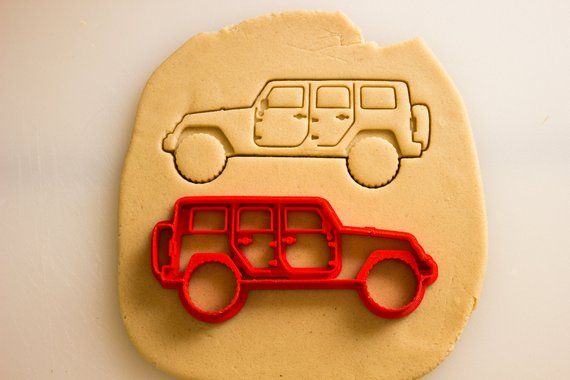 Jeep Wrangler 4 Door Rubicon Cookie Cutter | Jeep | Jeep, 4