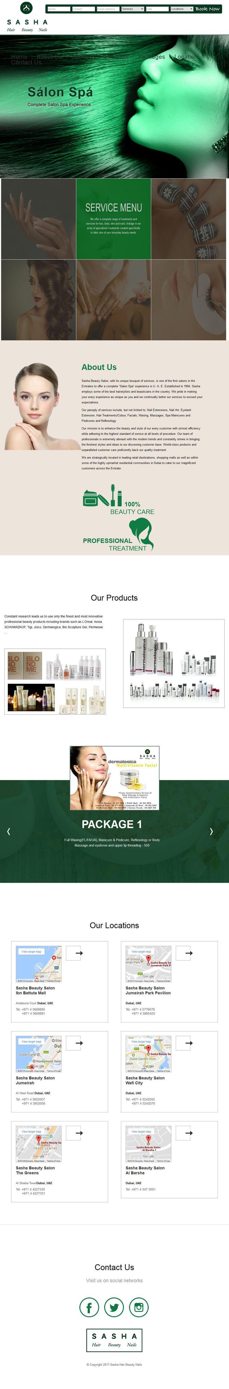 Sasha Beauty Ladies Salon Wafi Mall, 4, Sheikh Rashid Road 1 Floor Umm Hurair 2 - 315, Bur Dubai, Dubai | www.HaiUAE.com is a complete Travel Guide to Dubai, Ajman, Alain, Abu Dhabi, Fujairah, Sharjah, Ras al khaimah, Umm Al Quwain, United Arab Emirates, GCC Countries. Explore more about Megger Distributor in UAE, Valves Actuators Suppliers Dubai, EMPOST, Interior Decorators in Dubai, Al Ghandi Electronics
