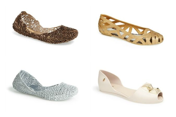 Melissa jelly shoes for adults that are chic, comfortable and perfect for spring!