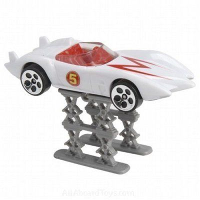 Speed Racer Hot Wheels Mach 5 by Mattel. $39.99. 1:64 Speed Racer Desert Rally Mach 5 with Saw Blades. Speed Racer by Hot Wheels. Movie booklet included!. Accessories connect to every 1:64 Speed Racer Vehicle!. 1:64 Speed Racer Desert Rally Mach 5 with Saw Blades. Movie booklet included! Speed Racer by Hot Wheels. Accessories connect to every 1:64 Speed Racer Vehicle!