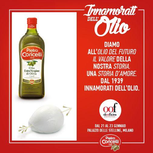 Milano, Palazzo delle Stelline Scoprire che c'è qualcosa che scalda più del fuoco, l'amore. Come il nostro, per l'olio. Per tutti gli #innamoratidellolio #innamoratidellolio #pietrocoricelli #oof2016 #olioevo #raw #food #extravirginoliveoil #oliveoil