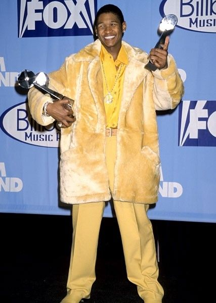 Billboard Music Awards 1998   Usher - The Most Ridiculous Outfits in Billboard Music Awards History ...