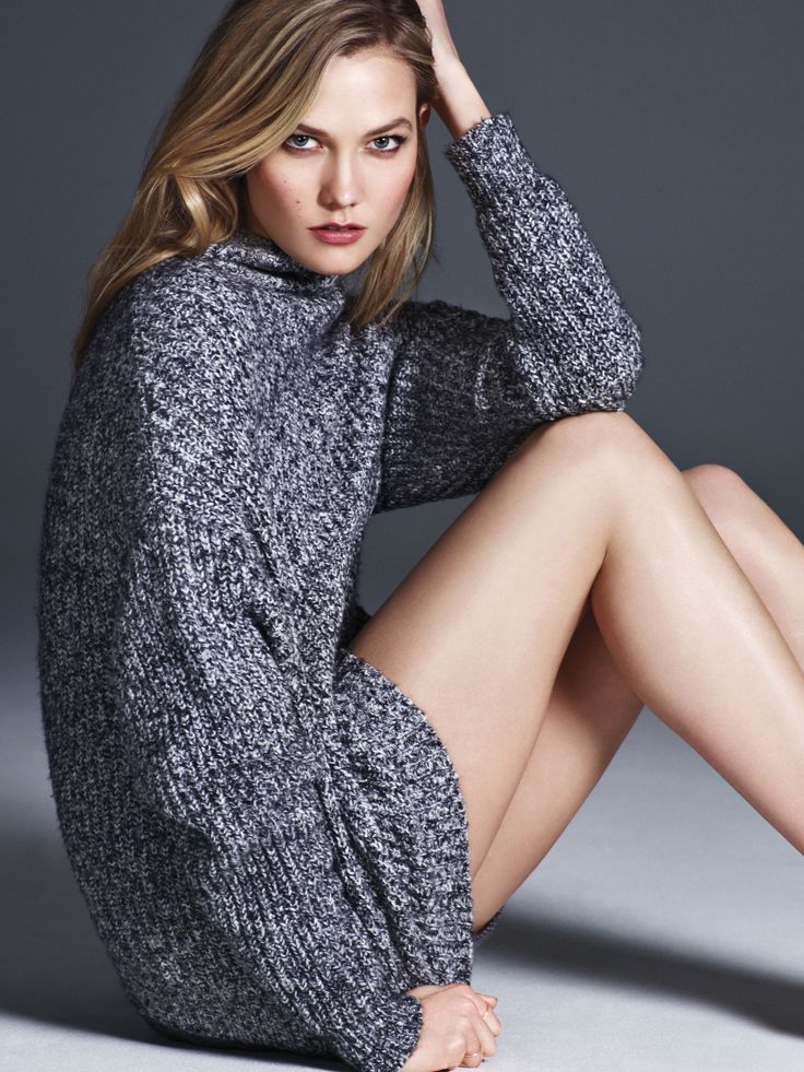 Supermodel Karlie Kloss Is our September Cover Star! / September 2015 / FLAREKarlie Kloss wears a funnel-neck sweater, $29 from the Joe Fresh x FLARE capsule collection, available September 10 at joefresh.com/flare and Joe Fresh stores nationwide.Read our full interview with Karlie, here!Karlie Kloss wears a Joe Fresh shirt and belt and Joe Fresh x FLARE jeans. Rings: Ariel Gordon and Catbird. Necklaces: Jennie Kwon. (Photo: Nino Muñoz)