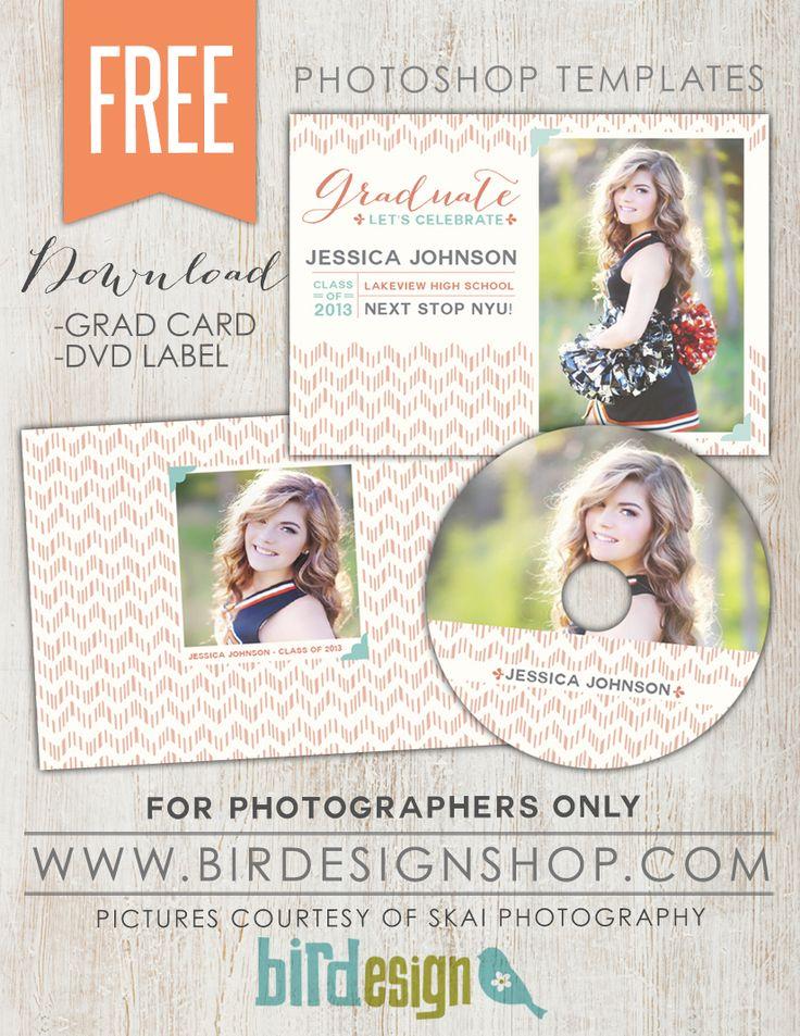 August FREE Photoshop template! - Birdesign